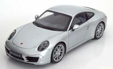1:18 Welly Porsche 911 (991) Carrera S Coupe 2013 silver