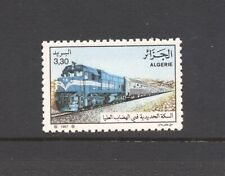 Algeria 1987 SG 975 Diesel Locomotive and Train Railway MNH