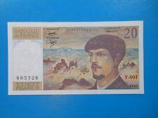 20 francs Debussy 1980 F66/1 PRESQUE NEUF