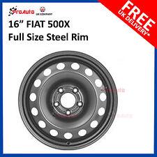 """FIAT 500X 2015-20017 16"""" FULL SIZE STEEL SPARE WHEEL STEEL RIM"""