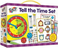 Galt TELL THE TIME SET Children Educational Toys And Activities BN