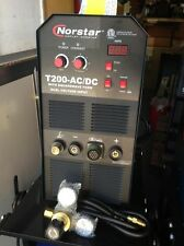 Norstar T200- AC/DC Premium SMAW GTAW TIG and Stick Welding Machine for Aluminum
