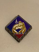 Ultra Rare Moscow 1980 Olympics Pin Badge Wrestling Russia