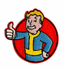 FALLOUT Iron on / Sew on Patch Embroidered Badge Embroidery Cartoon Game PT92