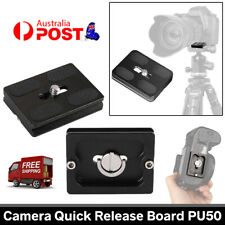 Universal Quick Release Plate Bracket for Arca Benro Tripod Ball Head SLR Camer