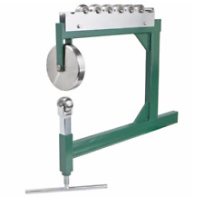 Professional Sharper Benchtop English Wheel Workbench Machine Sheet Metal, Green