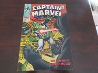 Captain Marvel #7 (Nov 1968, Marvel) Silver Age Classic FN Fine Condition