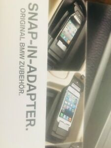 BMW New And Boxed Snap In Phone Cradle And Charger