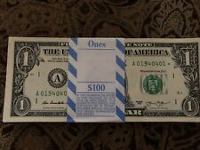 Multiple Error Three (3) ✯ Star Notes Sequential $1 Dollar Unc Crisp from Bep