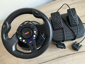 Sabre Sony Playstation 2 PS2 Steering Wheel And Pedals