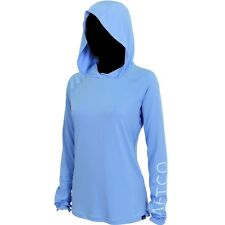AFTCO WOMENS Samurai Sun Protection Hoodie-UPF 40--Pick Color/Size-Free Ship