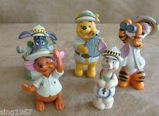 Disney World Animal Kingdom PVC figures  lot 5 Winnie the Pooh Roo Tigger topper