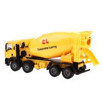 Car Ornaments Table Decor 1:50 Mini Agitating Lorry Car Cement Mixer Truck