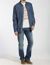Wrangler Jeans S Mens SS Kio Egret Off White T-Shirt Bnwt Heritage Top Free P&P