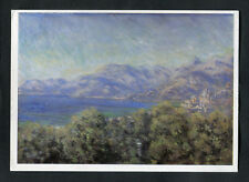 Posted 1997 Art Card: View of Ventimiglia: Claude Monet