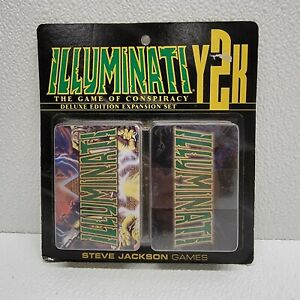 Illuminati Y2K Deluxe Edition Expansion Pack Steve Jackson Games - New sealed!