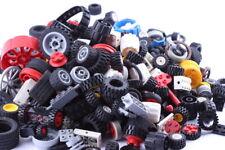 Ca. 1 kg gebrauchte LEGO® Räder, Achsen, Reifen und Stifte