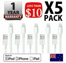 5x Fast Charge Data Cable Charging Cord for iPhone X 8 7 Plus 6 11 iPad Fast USB
