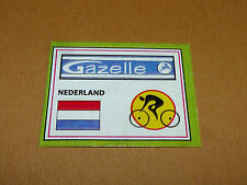 N°15 A GAZELLE NED PANINI SPRINT 71 CYCLISME 1971 WIELRIJDER CICLISMO CYCLING
