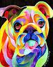 BULLDOG 8X10 DOG Print from Artist Sherry Shipley