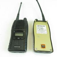 (2) Headline HL-1500 Two Way Walkie Talkie Radios - HL-1521 Untested Lot
