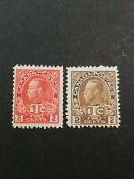 Canadian Stamps -- Canada 1916 War Tax Stamps MR3 MR4