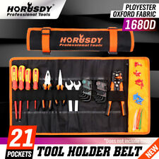 Roll Tool Pouch Wrench Ratchet Organizer Portable Folding Roll Up Bag Man Gift