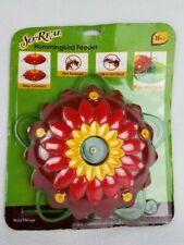 So Real - 3D Flower Hummingbird Feeder - Wild Wings - 16 oz - Brand New!