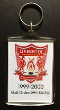 Liverpool Collectible 1990's Keyring With 1999-2000 Fixture List