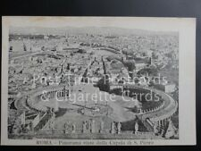 Old PC Italy: ROMA - Panorama visto dalla Cupola di S. Pietro