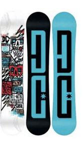 DC Ply Mini Snowboard 2020 White Blue 135cm