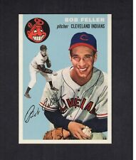 "BOB FELLER, Indians | 1954 Topps 2006 GBSCC promotional ""Cards That Never Were"""
