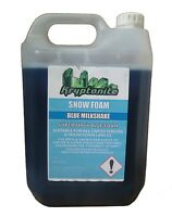 Snow Foam Blue Milkshake Super Think Shampoo Concentrated Car Vehicle - 5L