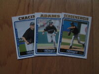 2005 Topps UPDATE Toronto Blue Jays TEAM SET