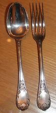 fourchette et cuillère christofle modèle marly