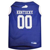 Kentucky Wildcats NCAA Pets First Dog Pet Basketball Tank Jersey Sizes XS-XXL