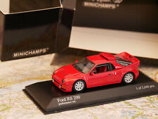 MINICHAMPS FORD RS 200 1985 RED ART.430080201 NEW DIE-CAST 1:43