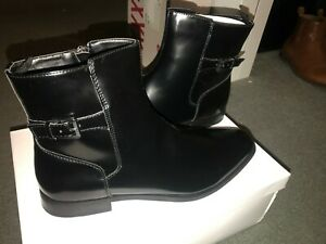 Calvin Klein Tyson Black Boots Size 11.5 Brand New!