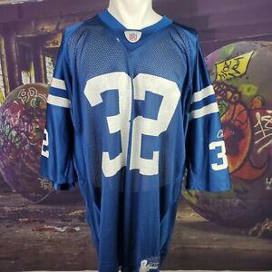 Edgerrin James Reebok Indianapolis Colts Jersey (Size XXL) C7