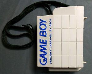 ASCII Original Nintendo Game Boy Portable Carry-All Hard Shell Travel Case only.