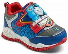 Thomas The Tank Engine Train Little Kids Light up Sneakers Toddler size 6 NEW