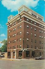 Rochester Minnesota~Corner Cafe in Hotel Arthur~1950s Car Postcard