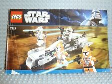 LEGO® Star Wars Bauanleitung 7913 Clone Battle Pack ungelocht BA Anleitung