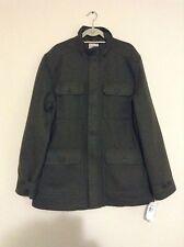 Timberland Men's 2XL Mt. Hayes Wool Blend Forest Green Coat Jacket  - MSRP $228