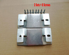 2 Sets with 8 Screws Universal Sectional Sofa Interlocking Furniture Connector