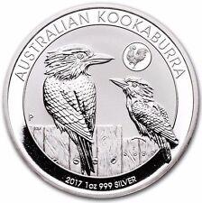 2017 1 oz Australian Silver Kookaburra Rooster Privy in Mint Capsule (BU)