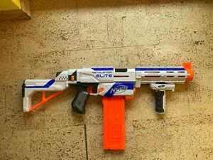Hasbro Nerf N-strike Elite XD Retaliator Weiß Inkl 18er Magazin