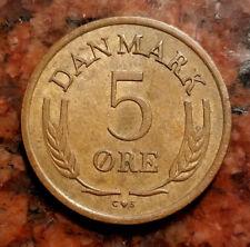 1964 DENMARK 5 ORE COIN - HIGH GRADE - #2966