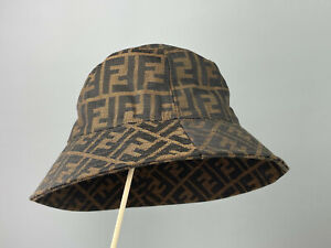 VTG Fendi Monogram Buket Hat Cap One Size