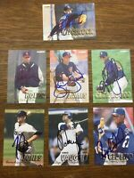 Todd Jones 1997 FLEER Autographed signed baseball card Houston Astros